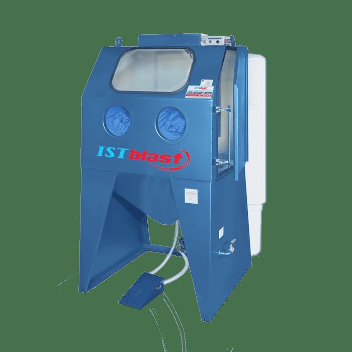 ECAB Series – Semi-Industrial Sandblasting Cabinets with Media Reclaimer