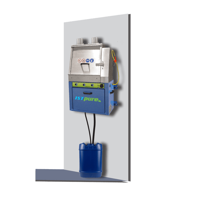GWA 200 – Wall-Mounted Automatic Spray Gun Cleaner