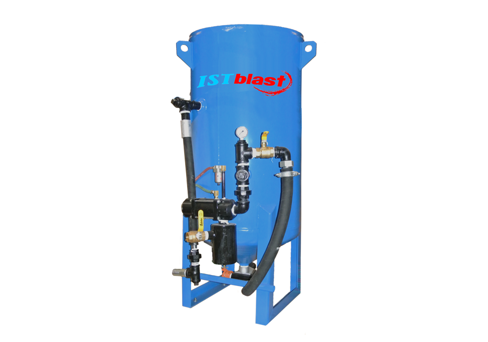 PPB-1046 – Sandblaster with 10 cubic feet pressure vessels (1,000 lb.)