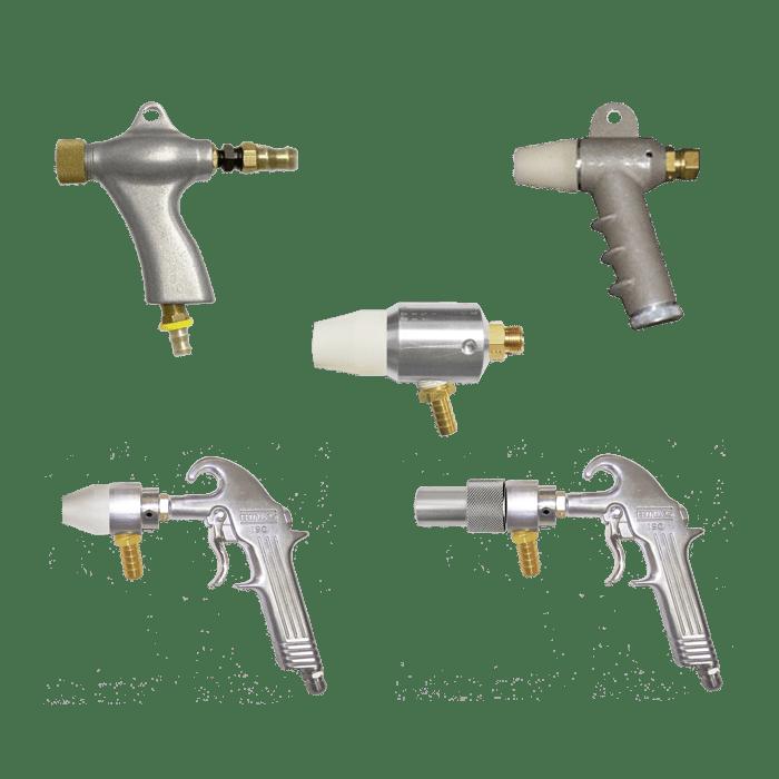 Sandblast Cabinet Guns & Nozzles