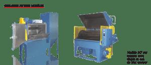 Système de sablage à panier rotatif - Autres modeles