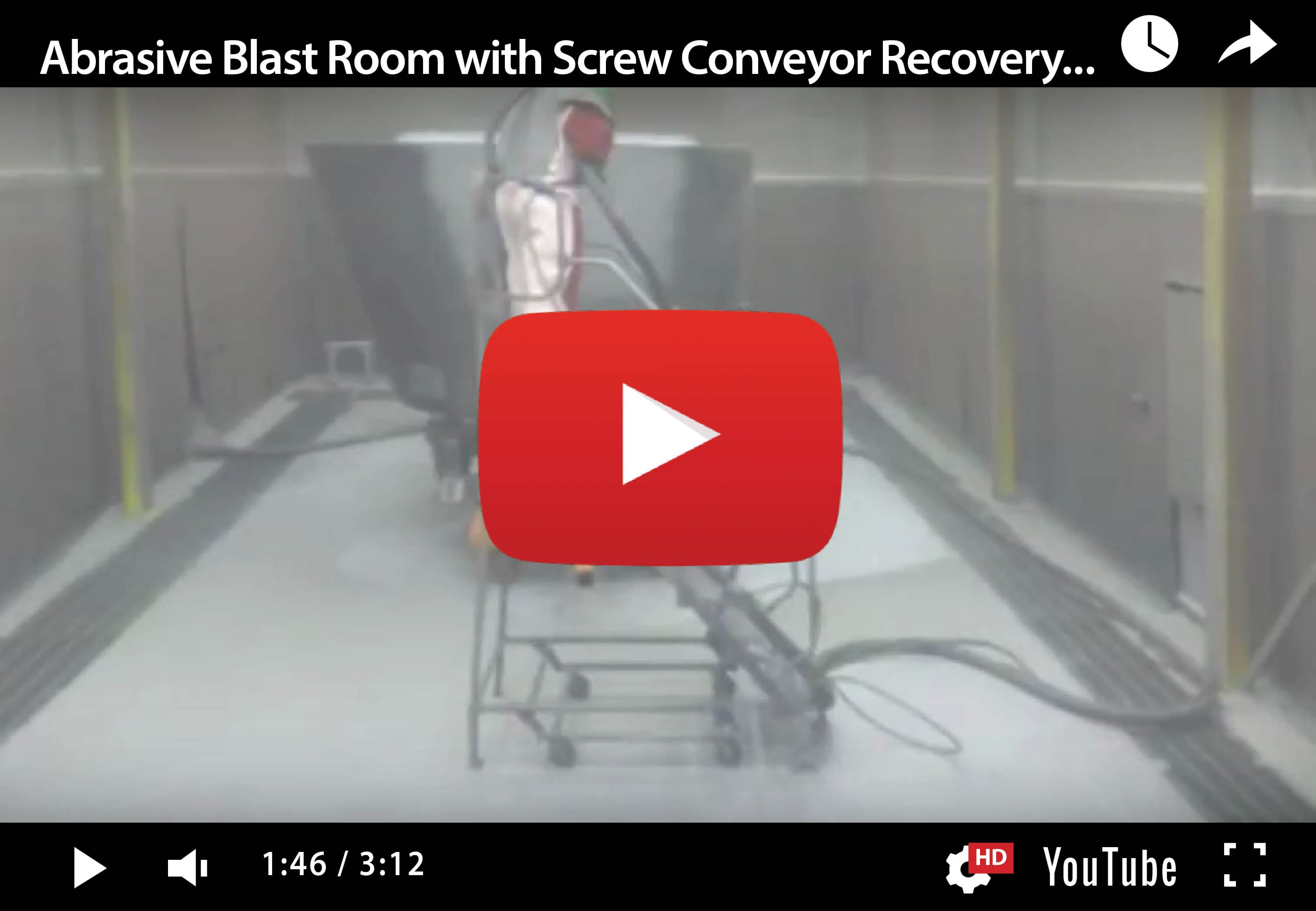 Mechanical Recovery System – Screw Conveyor & Bucket Elevator