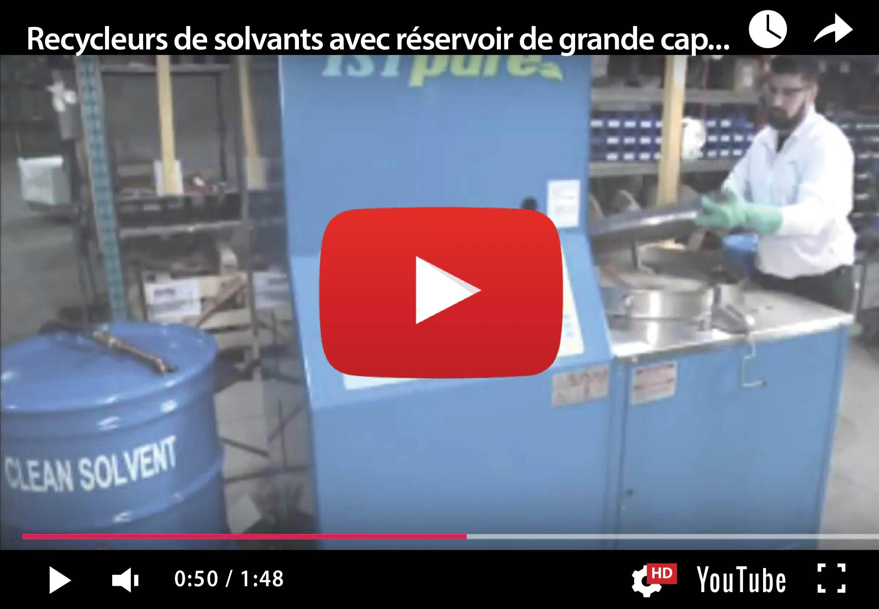 SR120-180-240 – Recycleurs de solvants par lot de grande capacité