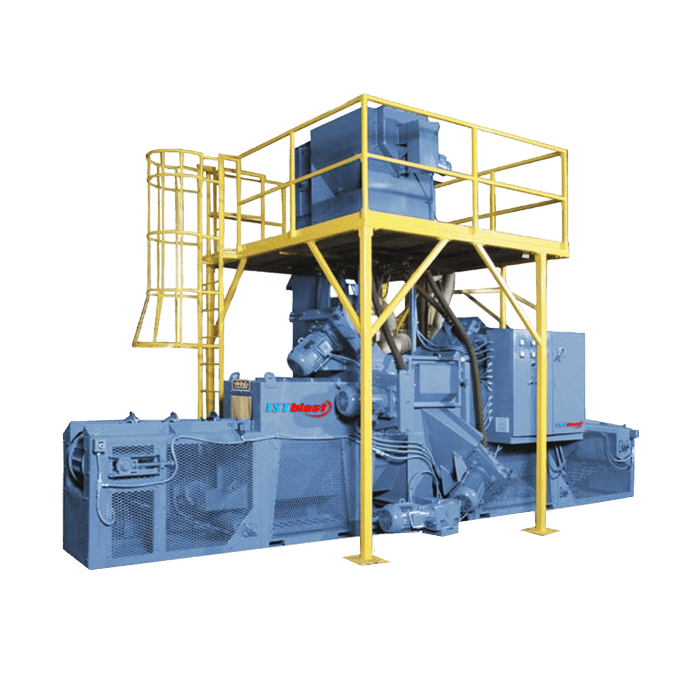 Chain Mesh Belt Sandblast Mill Series 12-18