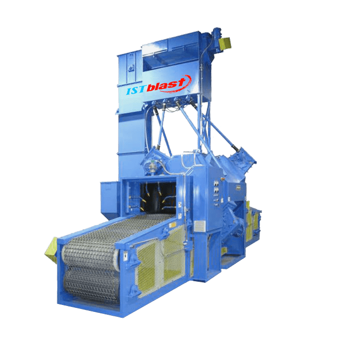 Chain Mesh Belt Sandblast Mill Series 36-48