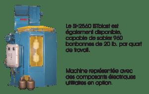 Option - Sableuse à suspension indexée SH 2560 - ISTblast