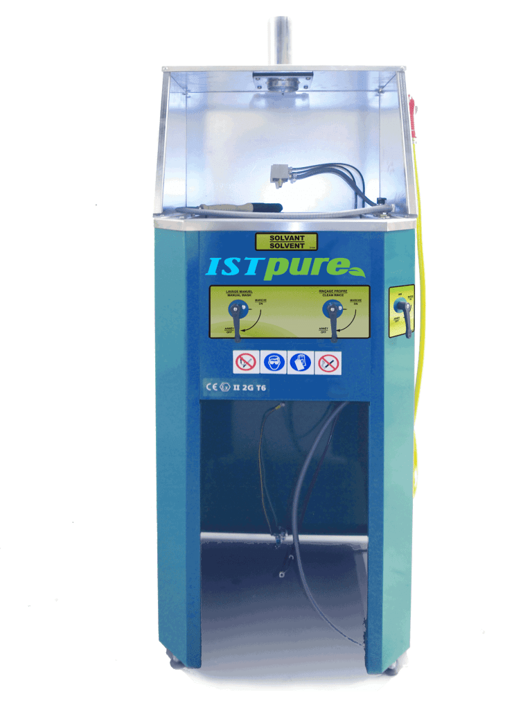 Gwm 300 Spray Gun Cleaner Manual Station Istpure