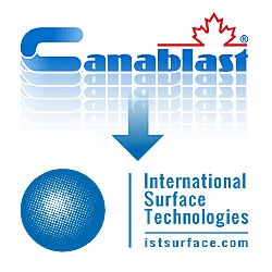 Canablast Devient International Surface Technologies Logo