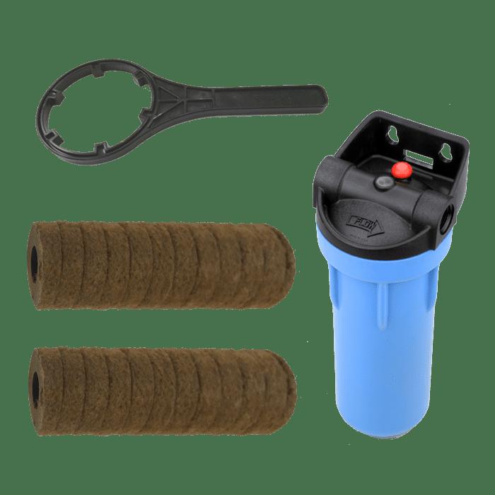 Blue Filter Inline Filtration System