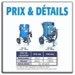 FOR RENT - Portable Pressure Blasters