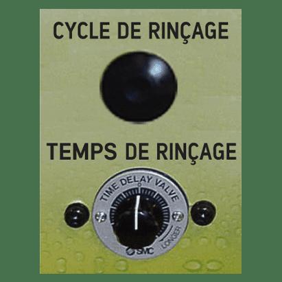 Cycle rinçage propre Série PW