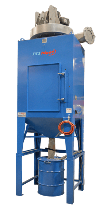 DCM200 – Bag-House Motorized Dust Collector for Abrasive Blast Room Recovery Systems - ISTblast