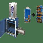 Série IAC Compacteur de contenants aérosols - ISTpaint