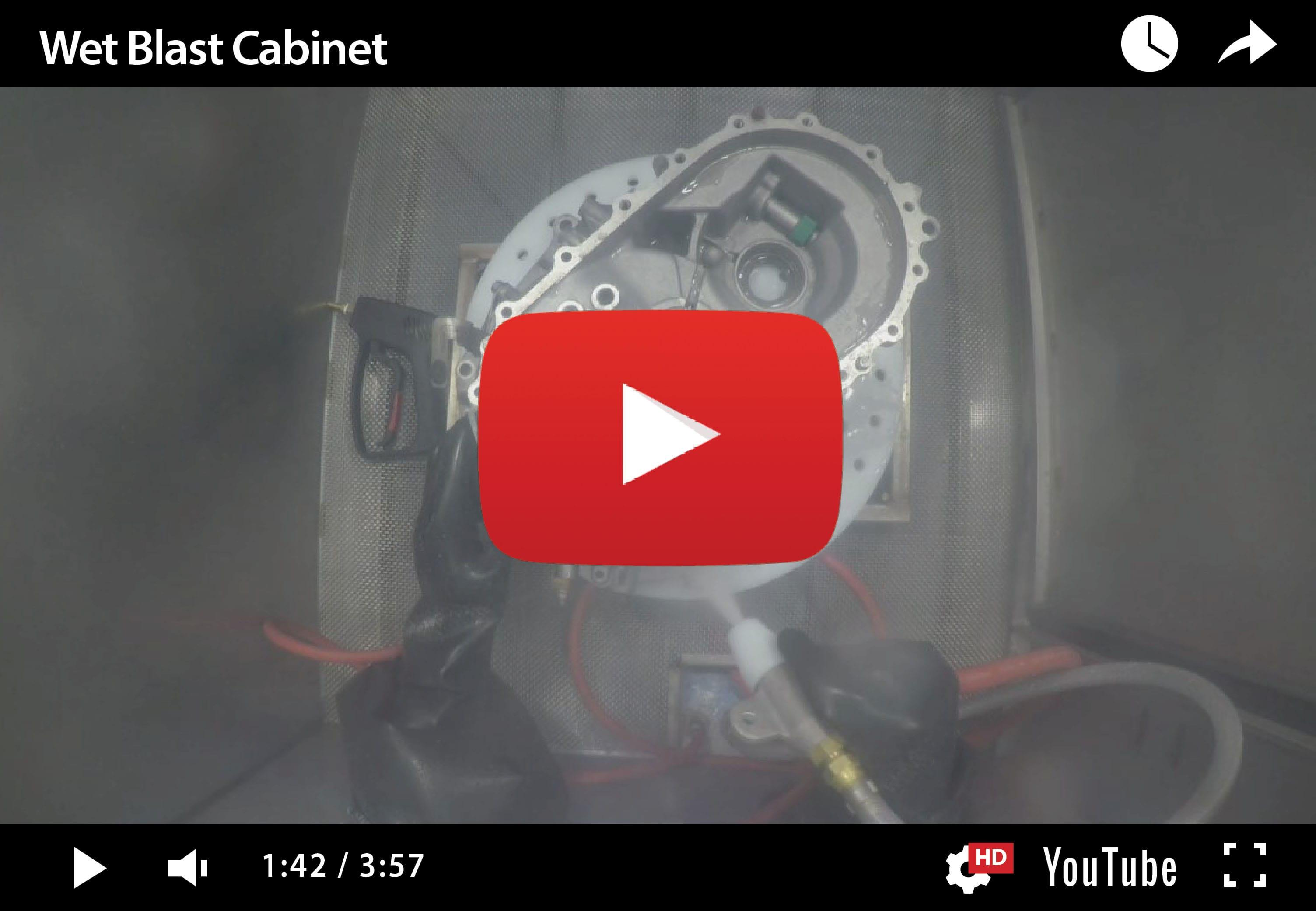 Wet Blast Cabinets