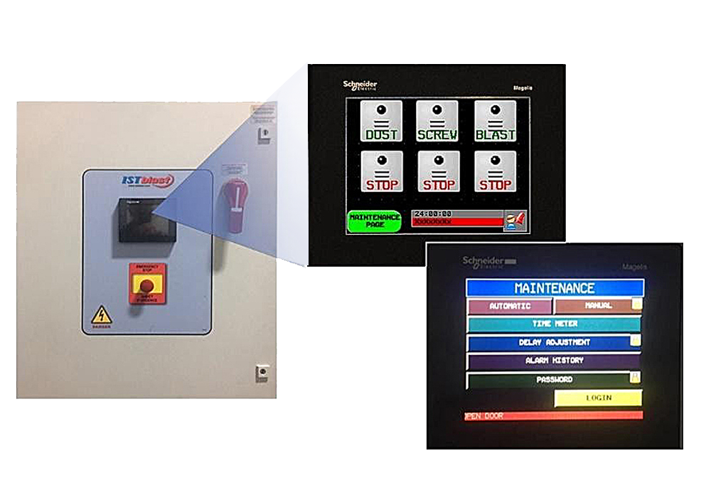 PLC with HMI User Interface