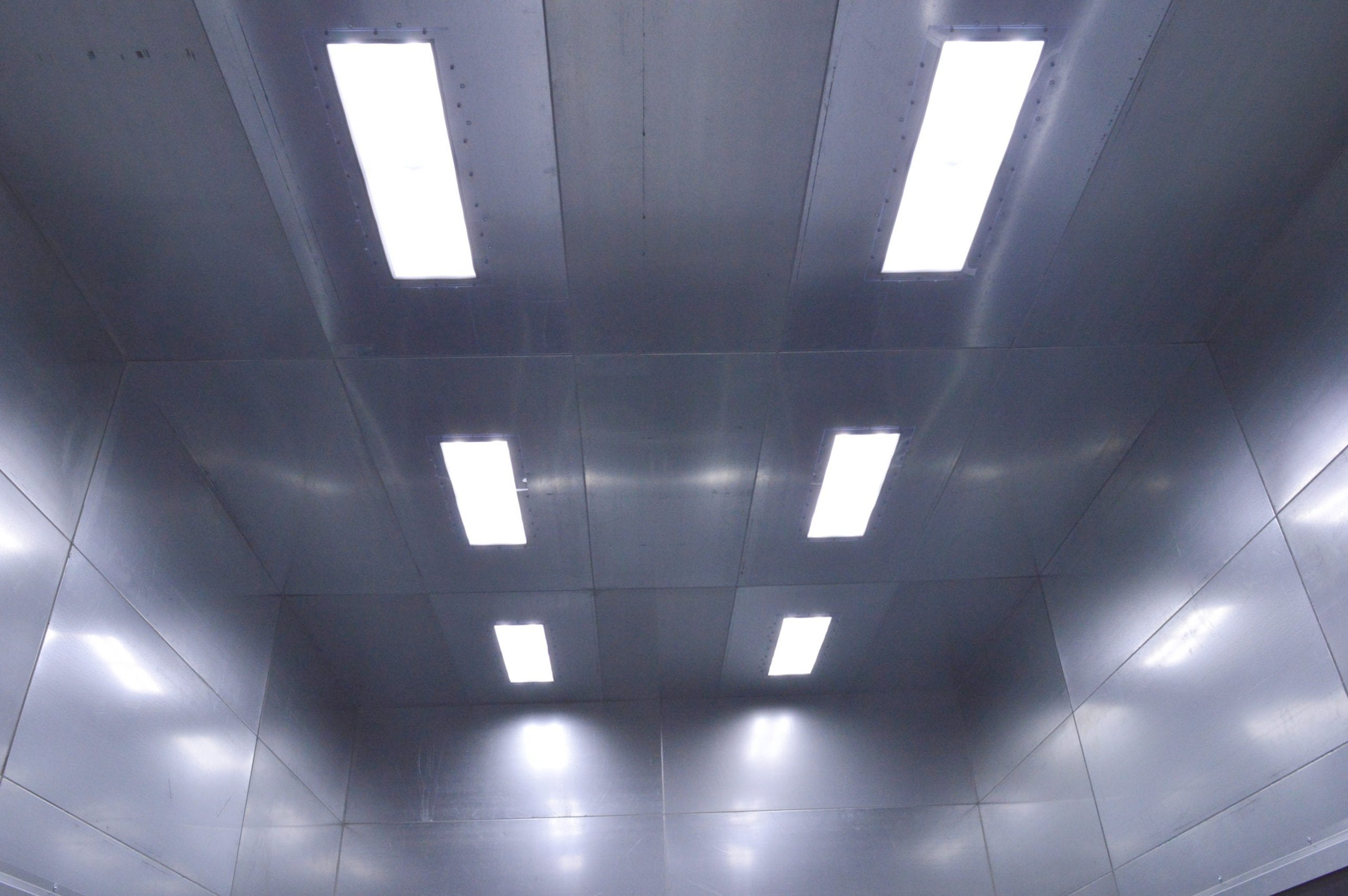 Sandblast Booth LED Lighting System