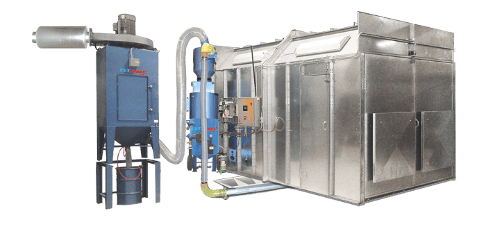 MSW1200 Pneumatic Floor Recovery System - ISTblast