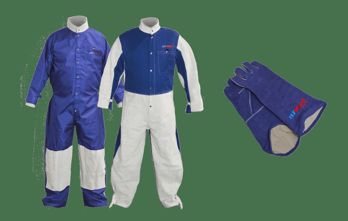ISTblast Sandblast Suits and Gloves