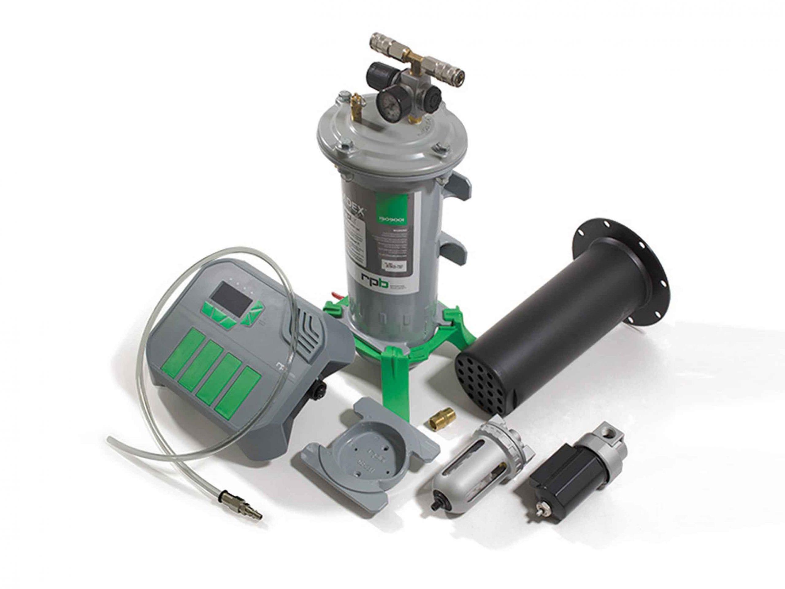 RPB Air Monitoring, Filtration, and Supply systems