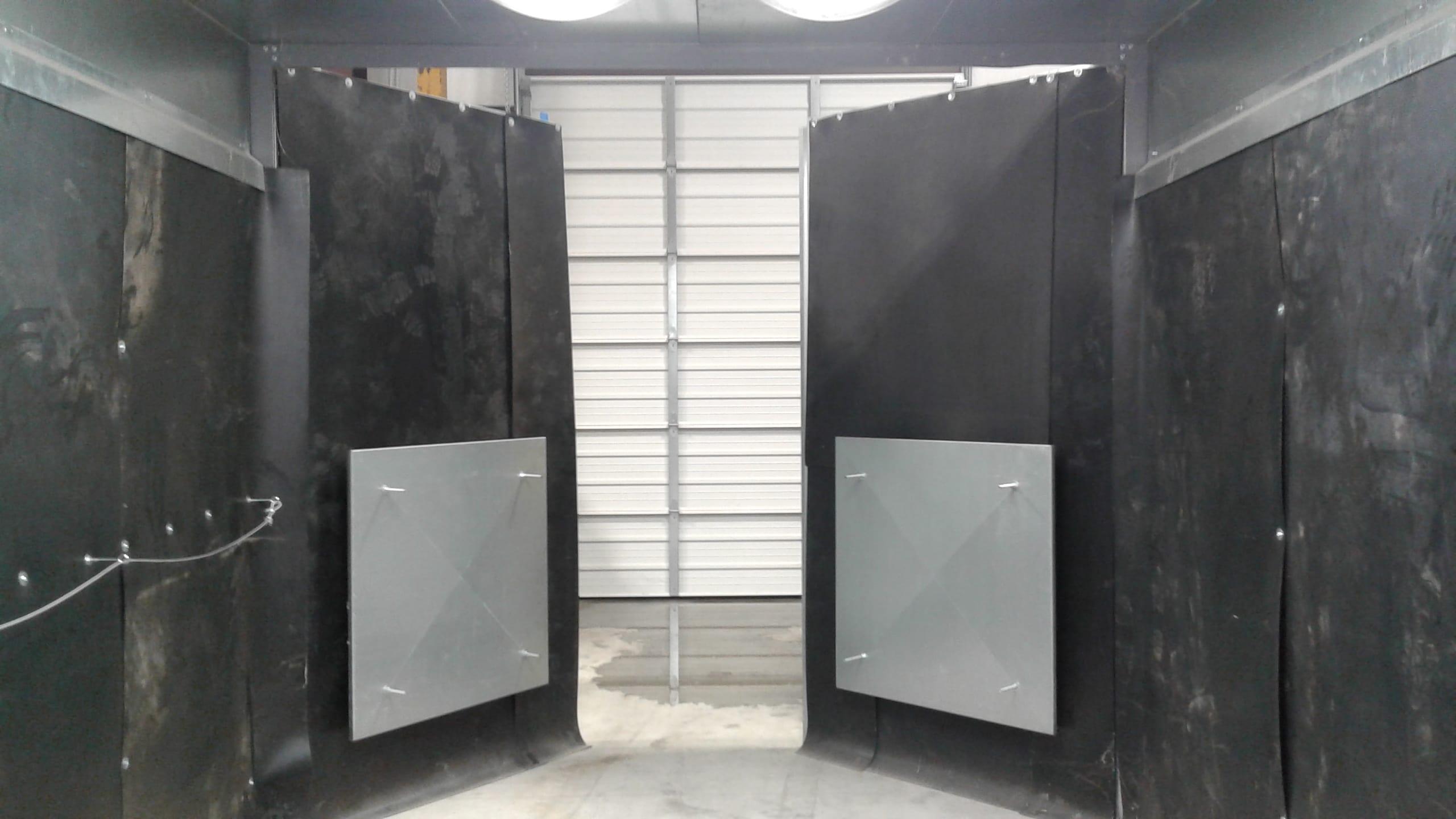 Sandblast Booth Air Inlet Plenums